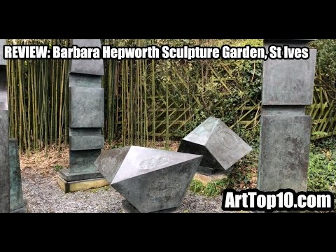 REVIEW: Barbara Hepworth Sculpture Garden, Tate St Ives, by ArtTop10.com Founder Robert Dunt
