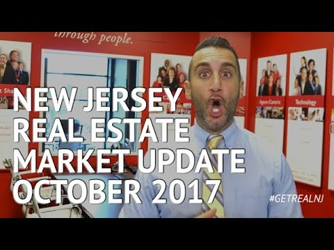 New Jersey Real Estate Market Update October 2017