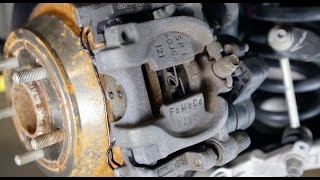 2013 Ford Fusion Rear Parking Brake Release