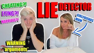 LIE DETECTOR TEST WITH MY MOTHER IN LAW! *arguments*