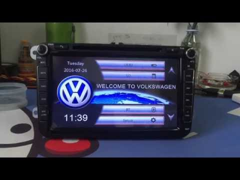 Hot selling New ZK-8815V 8 Inch VW Passat 3G Car original Radio