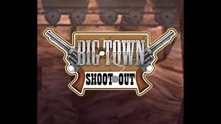 Big Town Shoot Out - Wii / WiiWare - Full Game