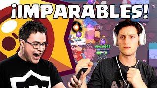 ALVARO845 y WITHZACK arrasando en BRAWL STARS   Nuevo juego de Supercell