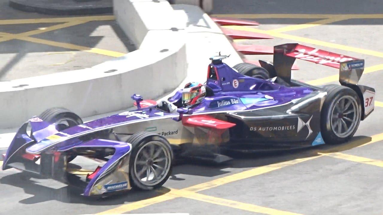 方程式 F1 電動賽車賽 Formula F1 electric car racing (part 2) iPhone SE - YouTube