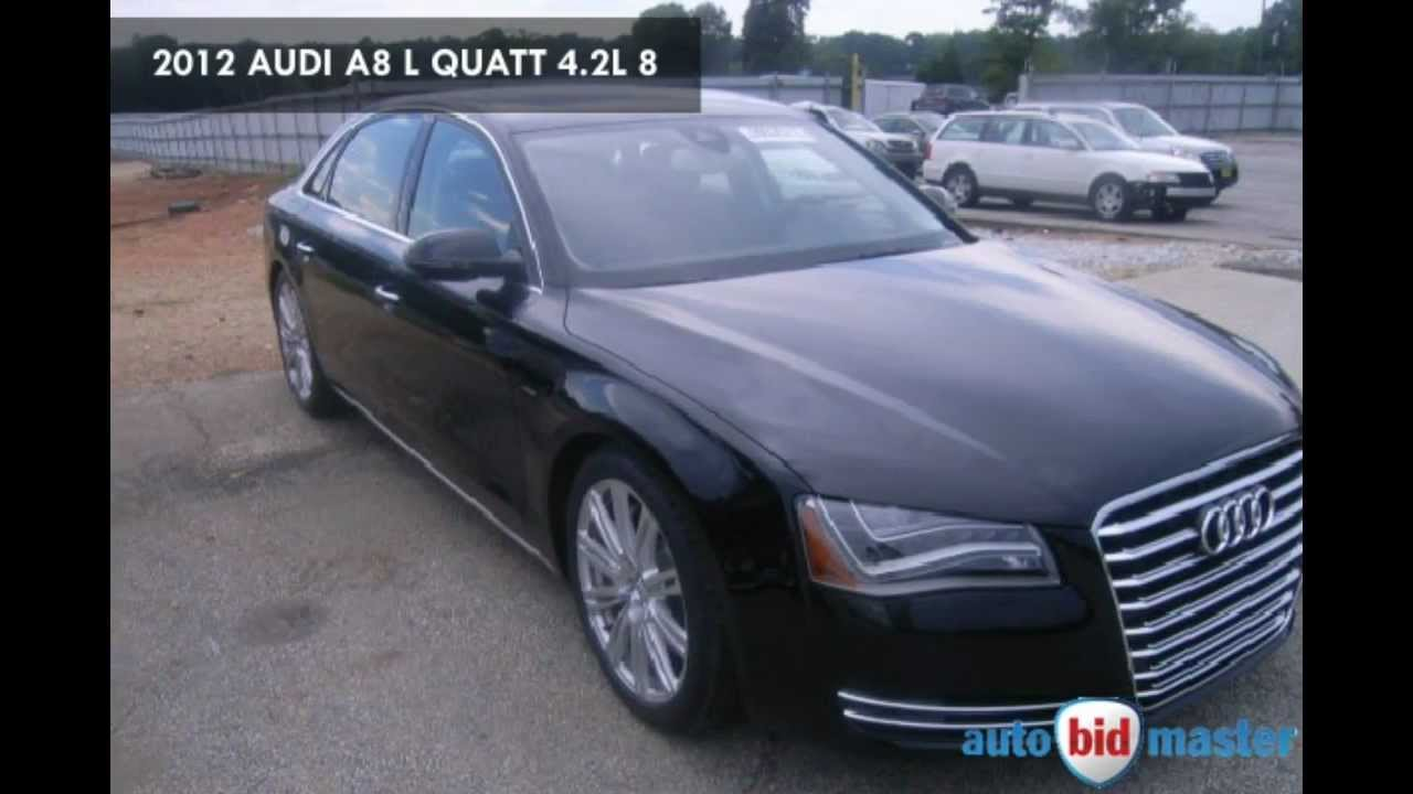 Audi Salvage Car Auction YouTube - Audi car auctions