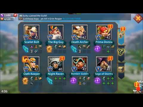 Lords Mobile-level Up & Promote Your Oath Keeper & Heroes