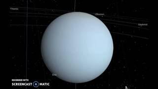 Solar System : Planet Uranus up close