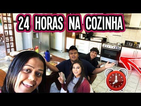24 HORAS NA COZINHA !!!