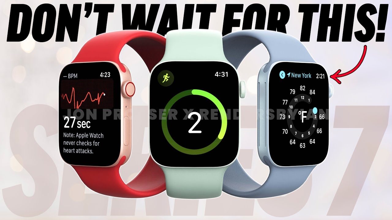DO NOT Wait for the Apple Watch Series 7! (NEW Leaks)