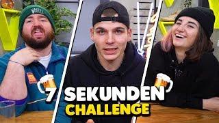 7 SEKUNDEN CHALLENGE aber BETRUNKEN 🍺
