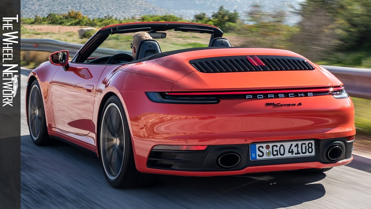 2020 Porsche 911 Carrera S Cabriolet Lava Orange Youtube