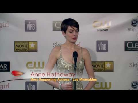 OSCAR NOMINEE: Anne Hathaway wins BFCA for Best Supporting Actress | BlackTree TV