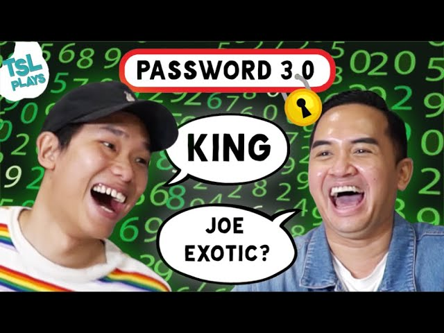 TSL Plays: Password 3.0