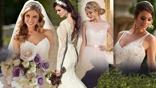 видео Прическа под свадебное платье. Что выбрать?