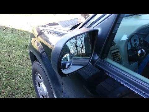 Door mirror assembly replacement (2001-2007 Ford Escape)