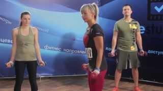 Упражнения для бицепсов | Фитнес тренировка с гантелями!