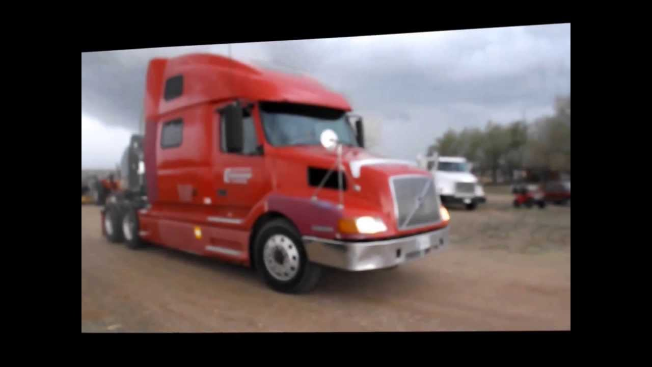 2003 volvo vnl semi truck for sale sold at auction may 21 2013 youtube. Black Bedroom Furniture Sets. Home Design Ideas