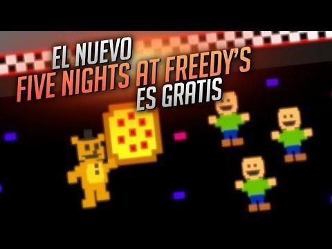 FIVE NIGHTS AT FREDDY'S 6: SORPRENDENTE Y... ¡GRATIS! ⭐️ Freddy Fazbear's Pizzeria Simulator
