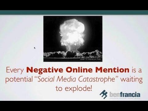 Social Media Reputation and Crisis Management - Webinar Recording | Ben Francia