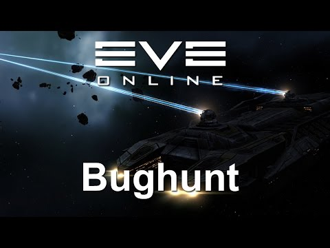 EVE Online - bughunting the mining drones