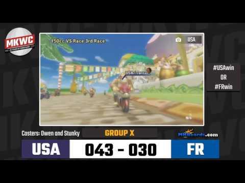 MKWC 2017 - Group X | United States vs France