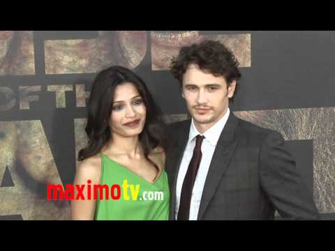 """Freida Pinto and James Franco at """"Rise of the Planet of the Apes"""" Premiere"""