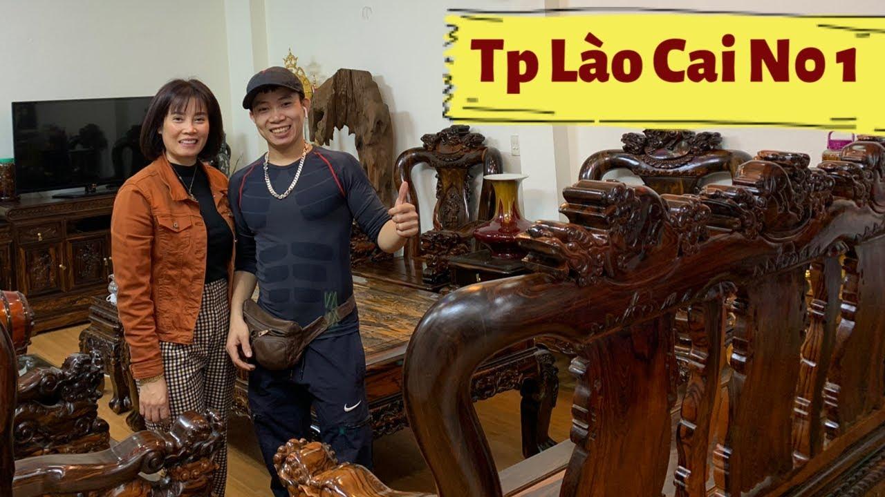 🔴Bảo Trì Bàn Ghế Gỗ Mun,Kệ Mun Tại Tiệm Tóc Khánh Hằng Đường Nguyễn Huệ TP Lào Cai.#dogothanhluan