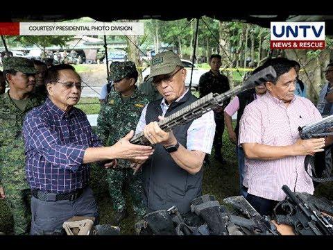 AFP, inaalam na kung saan galing ang mga armas ng Maute group