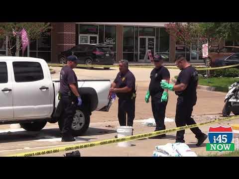 Houston Fire Department Hazmat response to League City - RAW video of HFD team working
