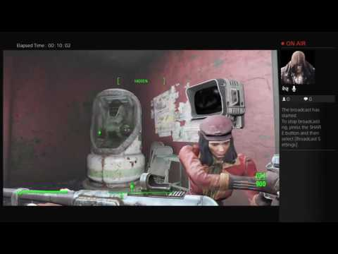 Icayhtian1's Live PS4 Fallout 4 USS Constitution part 2.