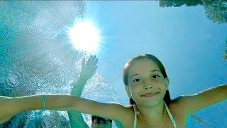 Tatil Vlog 4 Havuz Keyfi Ecrin Su Çoban. 🏖🏊♀️💃 (Underwater)