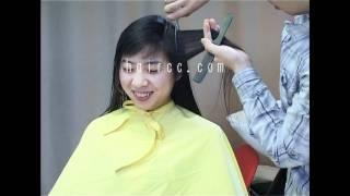 haircc c26 pt.01 long to very short crop makeover (shampoo,haircut,clipper)