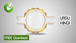 How to make Golden Medal CDR (CorelDraw) Vector   Free Download Medal Vector