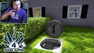 House Flipper - Part 4 - SECRET UNDERGROUND BUNKER!