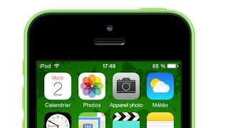 iPod touch : Afficher le pourcentage de batterie
