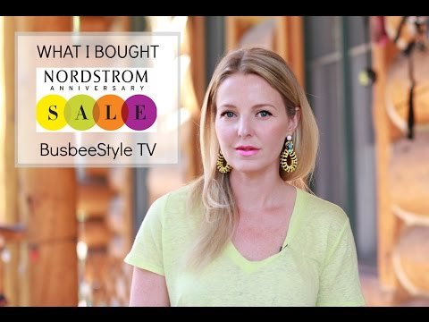 What I bought | Nordstrom Anniversary Sale 2016 | BusbeeStyle TV