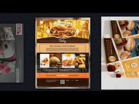Backshop Flyer Vorlagen - Cafe Coffeeshop Kaffeehaus Werbung
