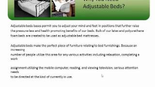 Adjustable Beds Reviews - Why Do You Need Adjustable Beds?