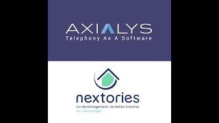 Pourquoi l'expert du déménagement Nextories a choisi la solution d'Axialys