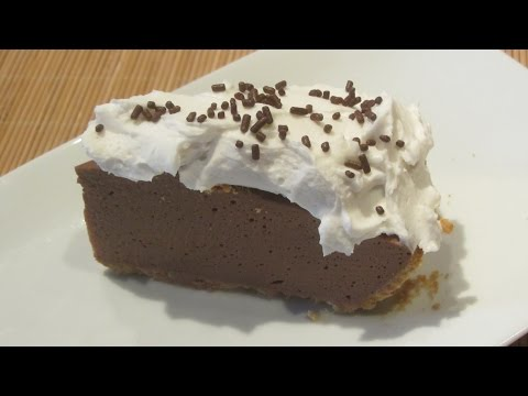 Vegan Easy Dessert Chocolate Cream Pie Minus (Contains Honey)
