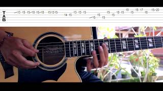 Avenged Sevenfold Seize The Day Acoustic Guitar Solo Lesson With Tab