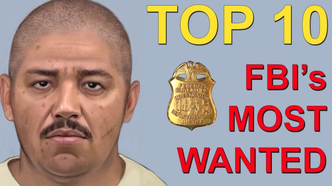 Top 10 America s Most Wanted by the FBI   YouTube