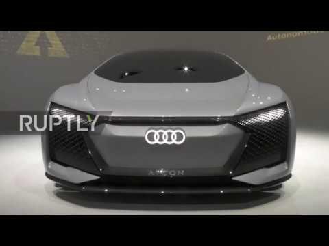 Germany Audi Reveals Maximum Luxury Self Driving Car Concept Youtube