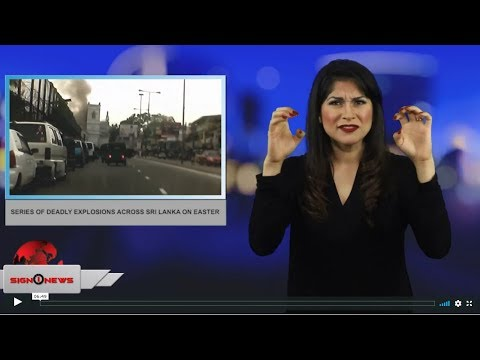 Sign1News 4.21.19 - News for the Deaf community powered by CNN in American Sign Language (ASL)