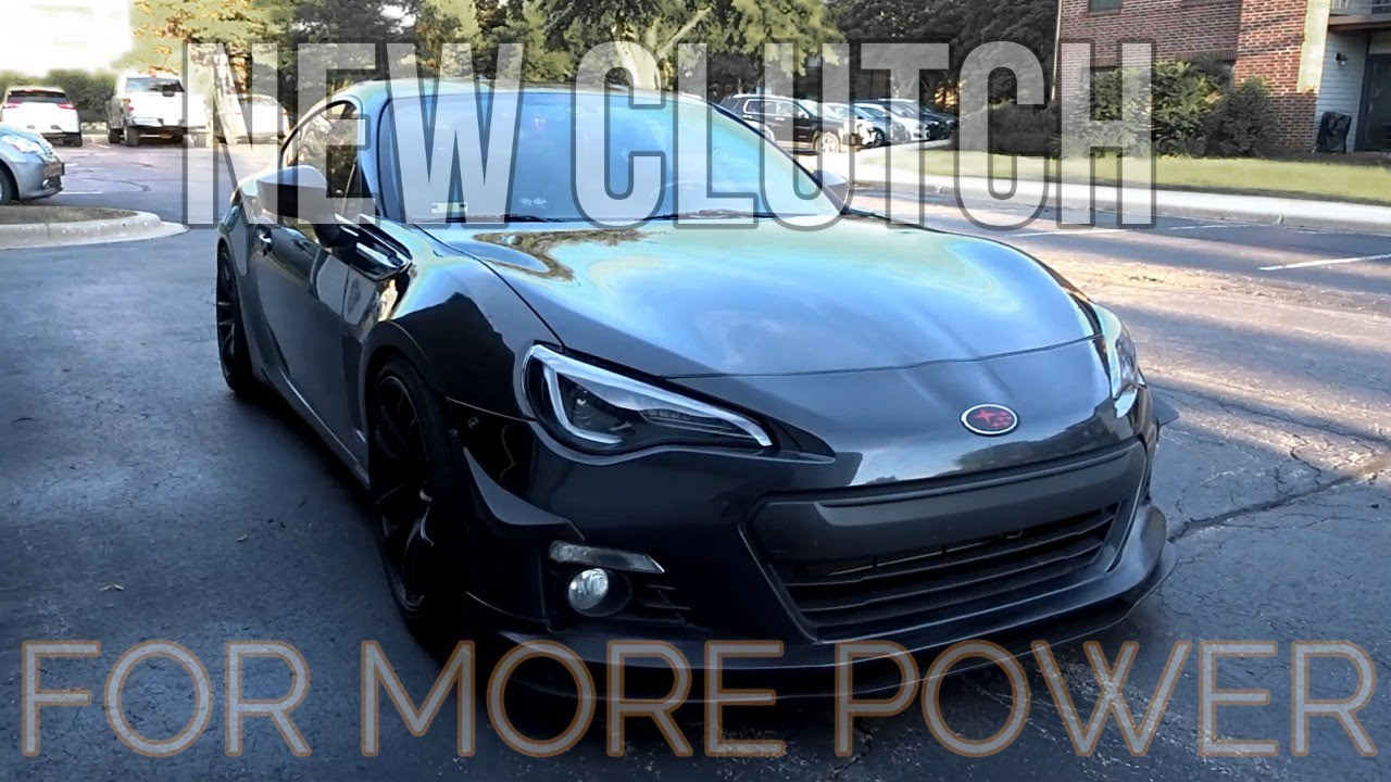 BRZ Gets New Clutch For More Power! (New Garnish For Wide Fenders)