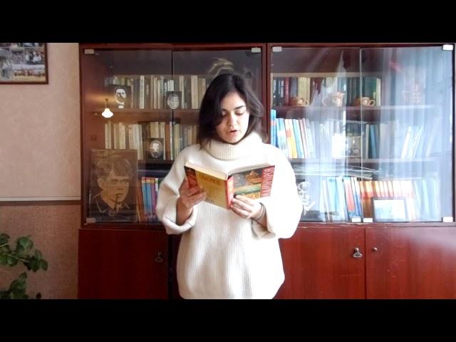 Изображение предпросмотра прочтения – СофияБлыскун читает отрывок изпроизведения «Обломов» И.А.Гончарова