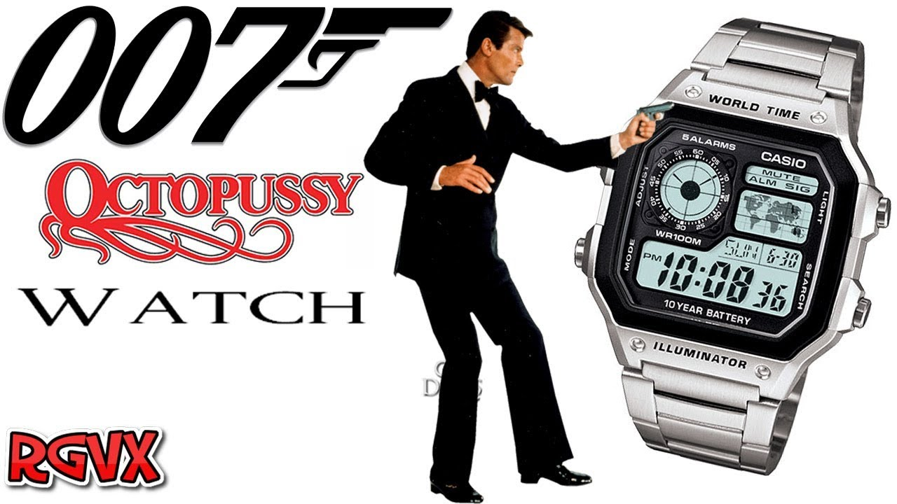 The Casio Octopussy James Bond 007 Watch Review Ae 1200whd Jam Tangan Standard 1200wh 1bv