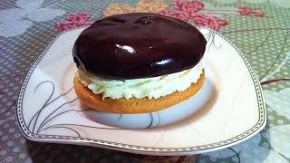 Пирожное Буше / Бисквитное Пирожное / BOUCHEE / Пошаговый Рецепт (Очень Вкусный Десерт)