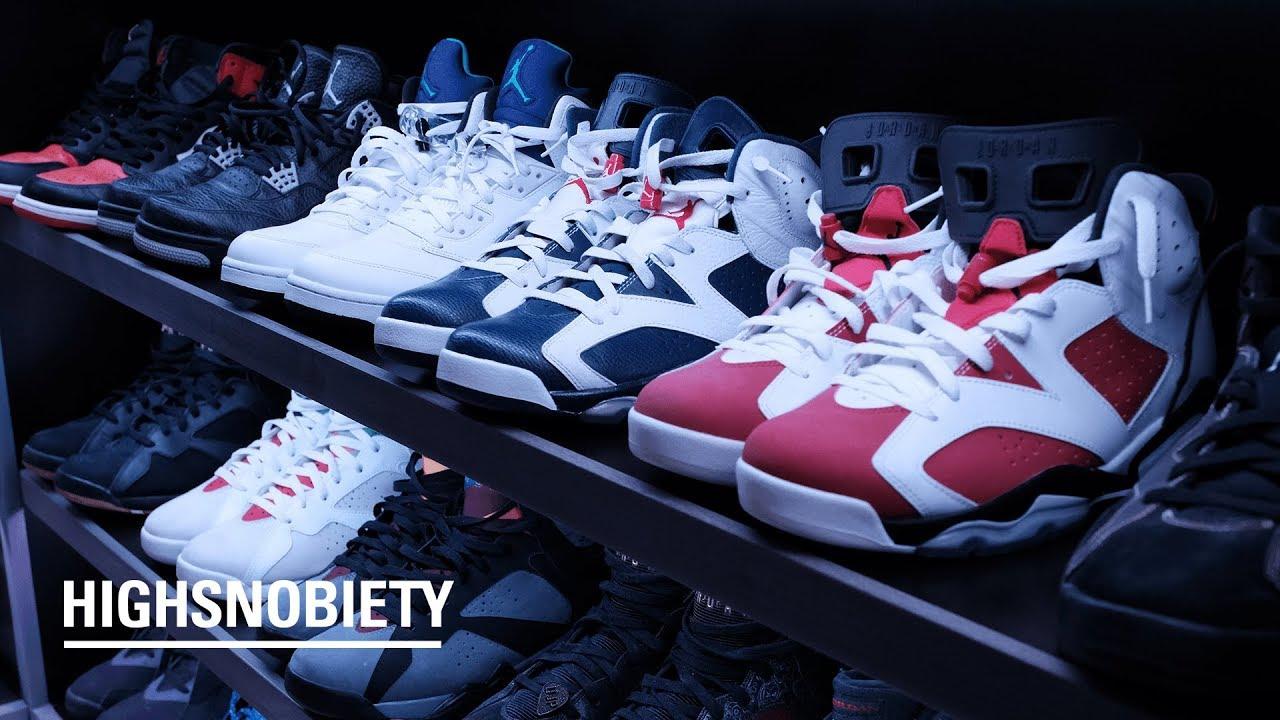 3053e0b61185 StockX CEO Josh Luber Shows Off His Insane Personal Sneaker Collection