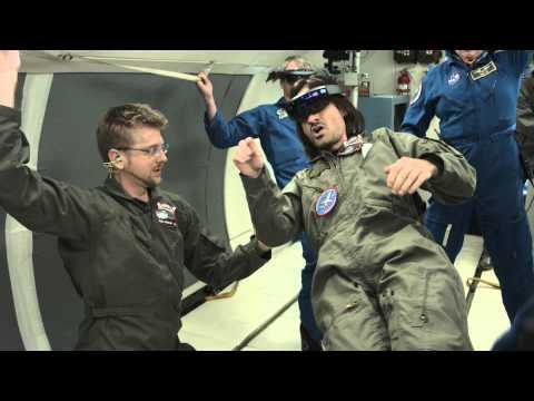 NASA leva óculos da Microsoft para Estação Espacial
